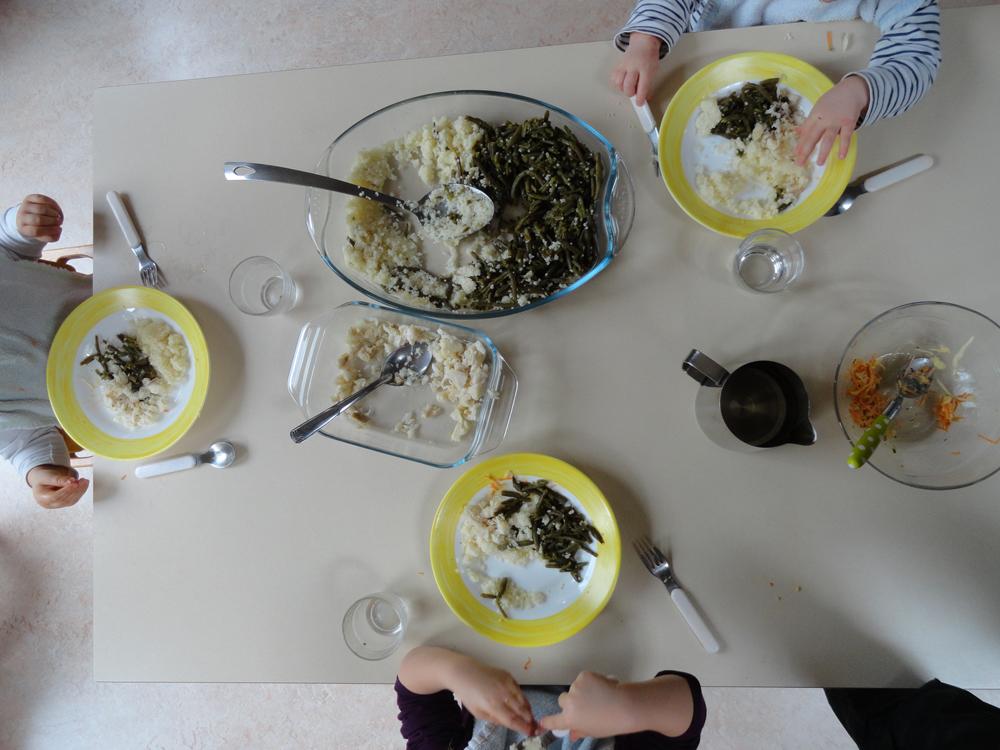 """Multi-accueil collectif """"La Souris Verte"""" les repas"""